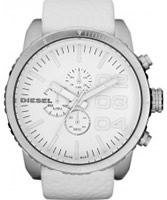Buy Diesel Mens Advanced Chronograph White Watch online