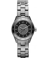 Buy Armani Exchange Ladies Silver Noemi Active Watch online