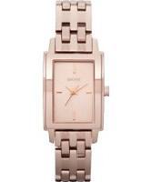Buy DKNY Ladies Essentials and Glitz Rose Gold Watch online