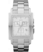 Buy DKNY Mens Casual Chronograph Silver Tone Watch online