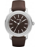 Buy DKNY Mens Dress Brown Watch online