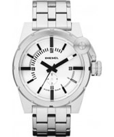 Buy Diesel Mens All White Watch online