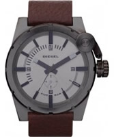 Buy Diesel Mens Grey Brown Watch online