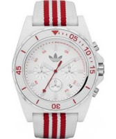 Buy Adidas Stockholm White Red Chronograph Watch online