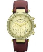 Buy Michael Kors Ladies Glitz Chronograph Watch online