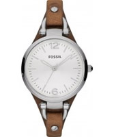 Buy Fossil Ladies Brown Georgia Watch online
