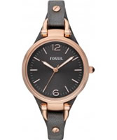Buy Fossil Ladies Grey Georgia Watch online