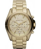 Buy Michael Kors Ladies Chronograph Gold Watch online