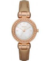 Buy DKNY Ladies Essentials and Glitz Caramel Watch online