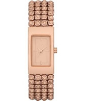 Buy DKNY Ladies Essentials and Glitz Rose Gold Watch online