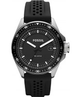 Buy Fossil Mens Black Decker Silicone Watch online