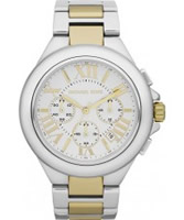 Buy Michael Kors Ladies Two Tone Chronograph Watch online