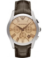 Buy Emporio Armani Mens Amber Valente Chronograph Watch online
