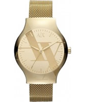 Buy Armani Exchange Ladies Gold Fashion Watch online