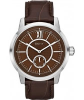 Buy DKNY Mens Casual Brown Watch online