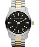 Buy Michael Kors Mens Runway Two Tone Watch online