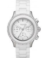 Buy DKNY Ladies CERAMIX White Watch online