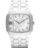 Buy Diesel DSL Silver Acetate Watch online