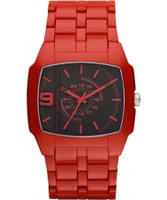 Buy Diesel DSL Red Acetate Watch online