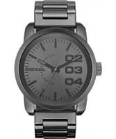 Buy Diesel Mens Franchise Gunmetal Watch online
