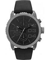 Buy Diesel Ladies Franchise Chronograph Black Watch online