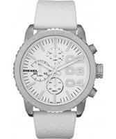 Buy Diesel Ladies Franchise Chronograph White Watch online