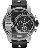 Buy Diesel Mens Baby Daddy Chrono Black Watch online