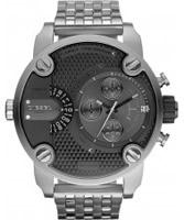 Buy Diesel Mens Baby Daddy Chrono Silver Watch online