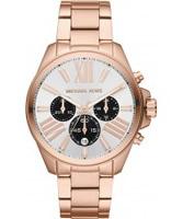 Buy Michael Kors Ladies Rose Gold Wren Chronograph Watch online