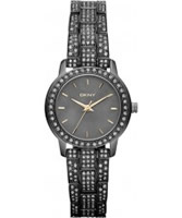 Buy DKNY Ladies Essentials and Glitz Grey Watch online