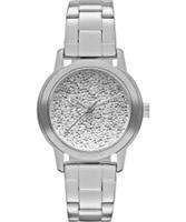 Buy DKNY Ladies Sparkle Silver Watch online