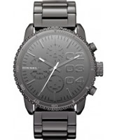 Buy Diesel Ladies Franchise Chronograph Gunmetal Watch online