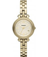 Buy Fossil Ladies Heather Gold Watch online