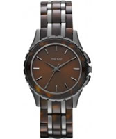 Buy DKNY Ladies Tortoiseshell Brown Watch online