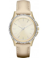 Buy DKNY Ladies Street Smart Champagne Watch online