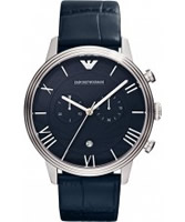 Buy Emporio Armani Mens Classic Blue Watch online