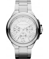 Buy Michael Kors Ladies Chronograph Silver Watch online