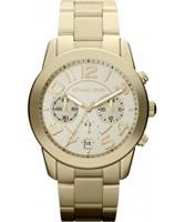 Buy Michael Kors Ladies Chronograph Gold Watch online