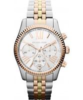 Buy Michael Kors Ladies Two Tone Chronograph Watch online