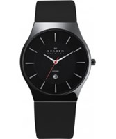 Buy Skagen Mens Black Ceramic Aktiv Watch online
