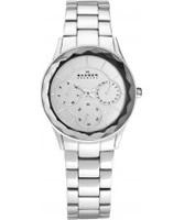 Buy Skagen Ladies Multifunction Steel Link Bracelet Watch online