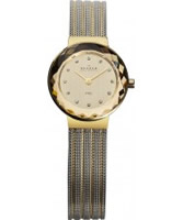 Buy Skagen Ladies Two Tone Klassik Mesh Watch online
