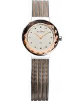 Buy Skagen Ladies Two Tone Klassik Mesh Watch online