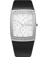 Buy Skagen Ladies Chronograph Black Watch online