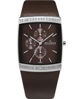 Buy Skagen Ladies Chronograph Brown Watch online