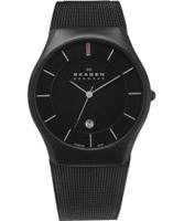 Buy Skagen Mens Black Aktiv Titanium Watch online