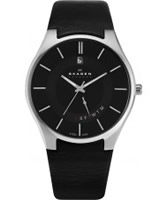 Buy Skagen Mens All Black Klassik Watch online