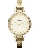 Buy Fossil Ladies Gold Georgia Watch online