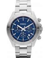 Buy Fossil Mens Retro Traveller Chronograph Watch online