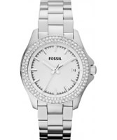 Buy Fossil Ladies Retro Traveller Silver Watch online